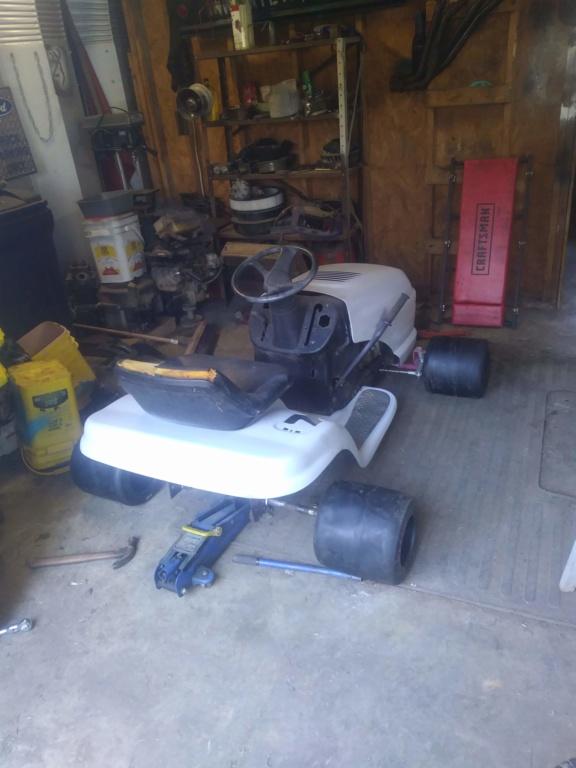 1984 Honda ATC 200 powered race mower 10181910