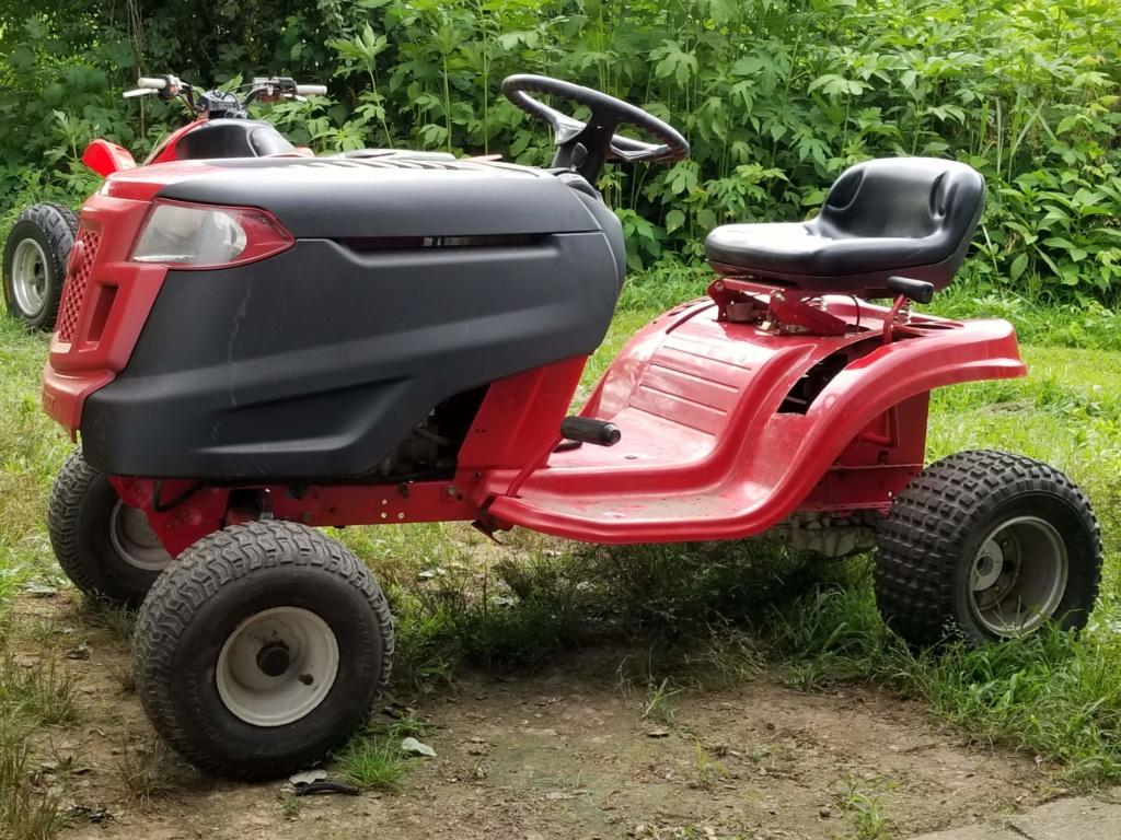 Troy Built Mud Mower 708cc Predator V-Twin 20180610