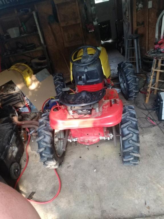 Troy Built Mud Mower 708cc Predator V-Twin 20190510