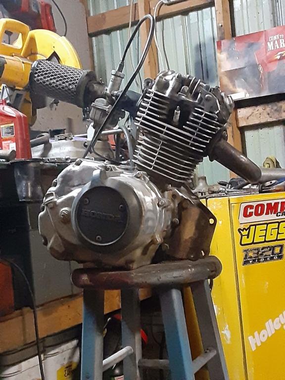 1984 Honda ATC 200 powered race mower 20200313