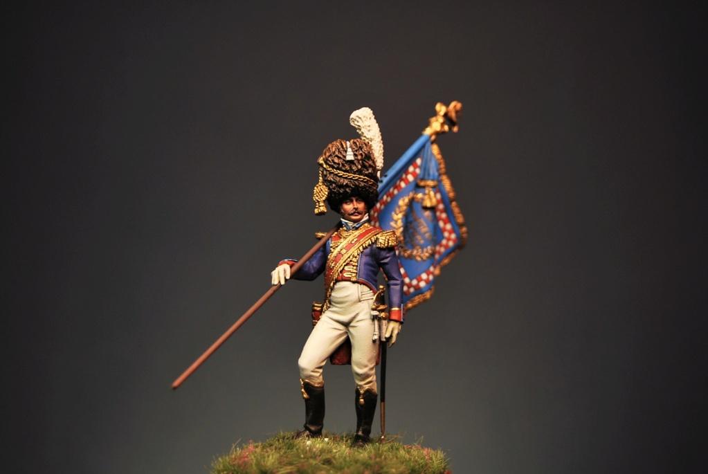 Grenadier of the Royal Guard Standard Bearer Officer, Kingdom of Naples Dsc_0042