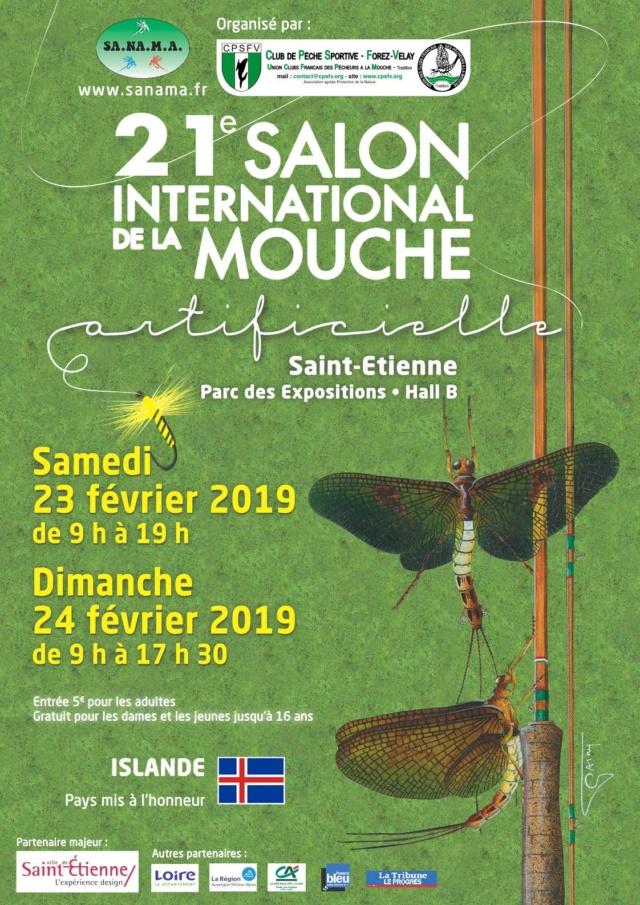 Salon inter National de la mouche artificielle Affich10