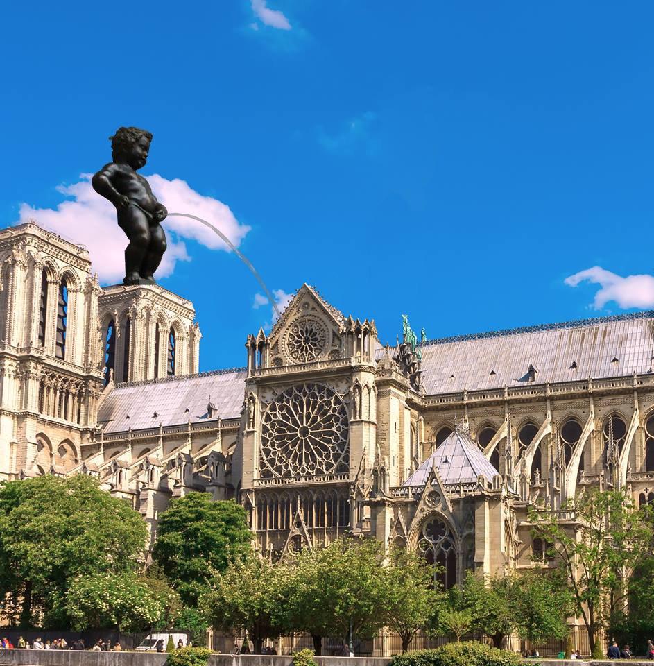 Notre Dame de Paris en feu  - Page 5 D4cdmb10