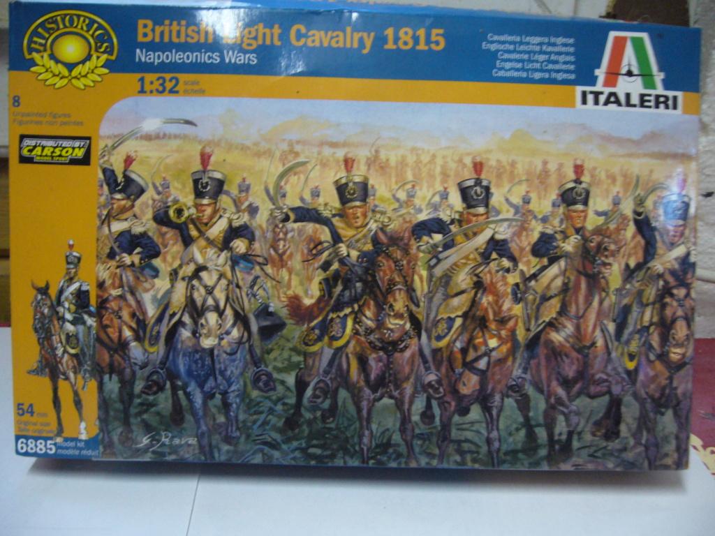 Cavalerie légère britannique 1815; Italeri 1/32 P1050120