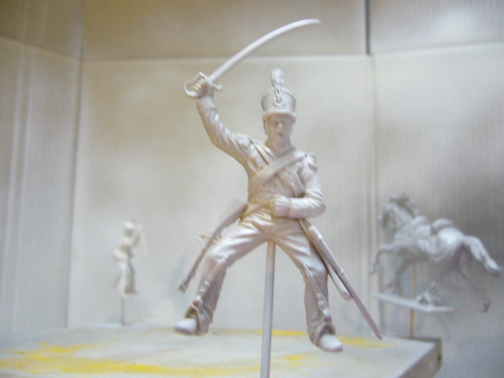 Cavalerie légère britannique 1815; Italeri 1/32 P1050126