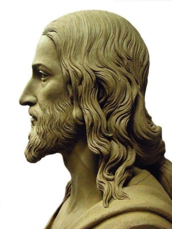 Visage du Christ d'après le saint Suaire Profil10