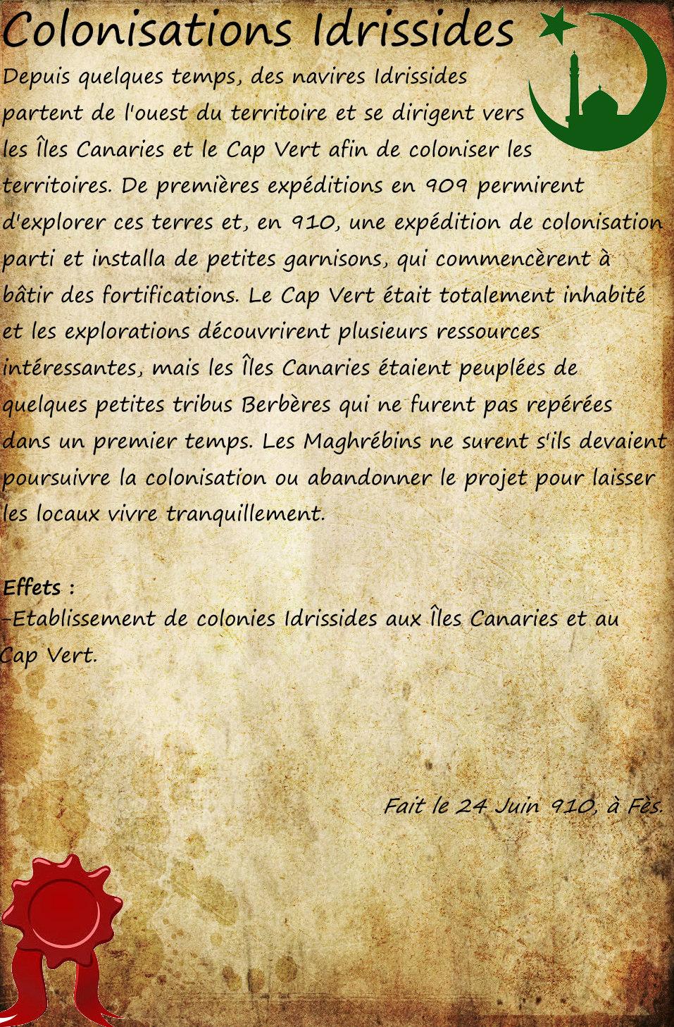 Colonisations Idrissides [910] Coloni10
