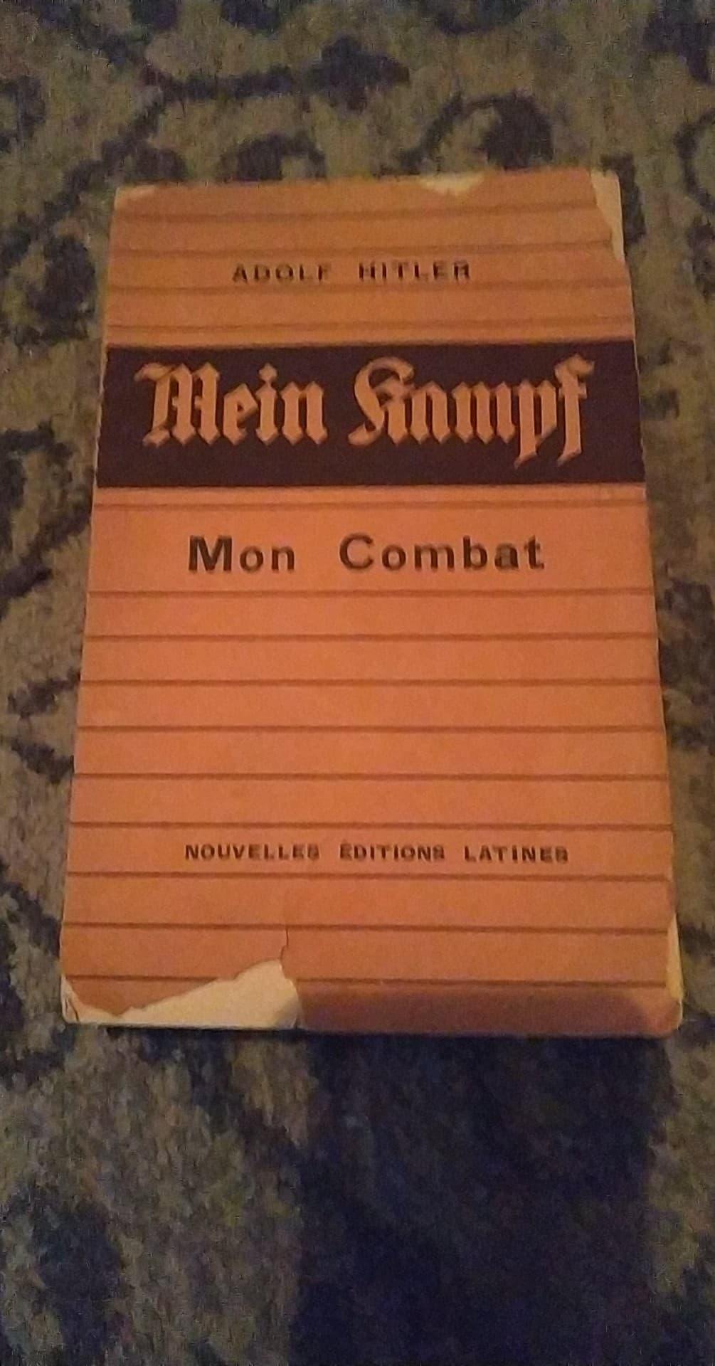 Mein kampf edition latine 1934 réservé aux collaborateurs 13192810