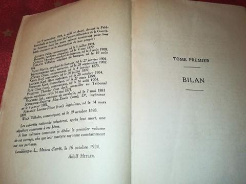 Mein kampf edition latine 1934 réservé aux collaborateurs 13378910