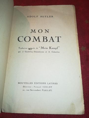 Mein kampf edition latine 1934 réservé aux collaborateurs 13397710