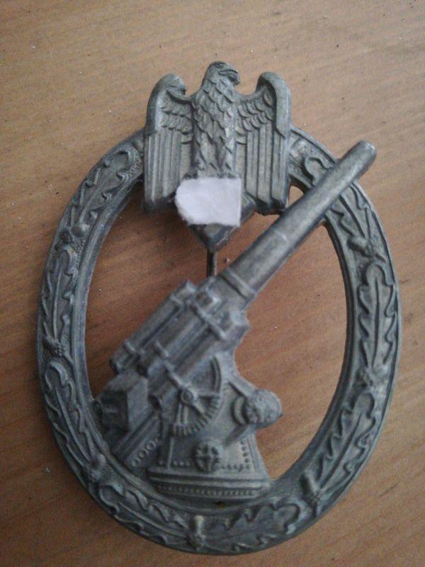 Flakkampfabzeichen Zinc 65439810