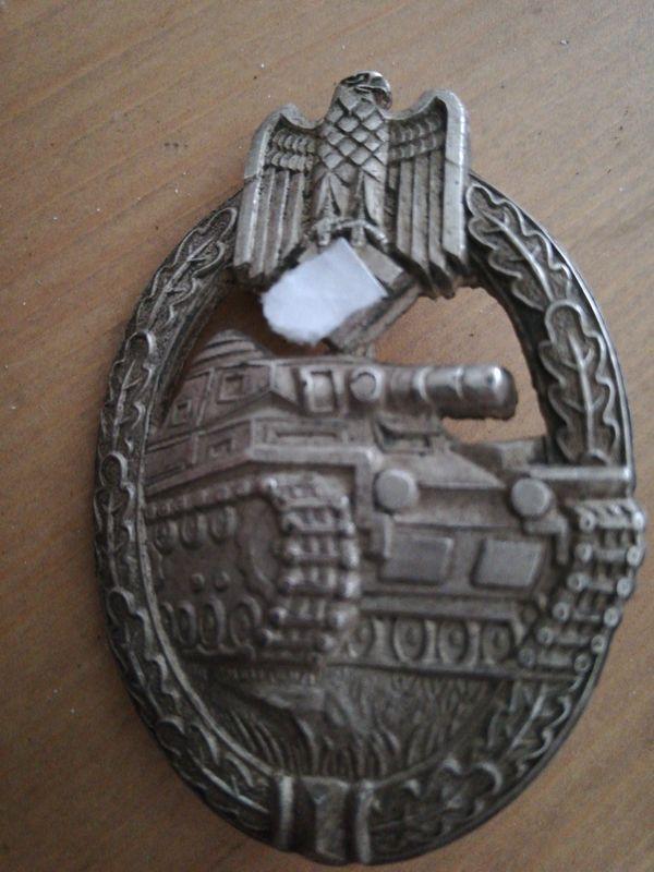 Panzerkanpfabzeichen Silber 65439913