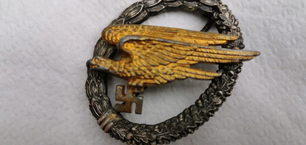 """Avis Fallschirmschützenabzeichen """"G.H.Osang Dresden"""" 71272210"""
