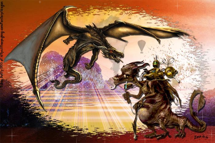 Un dragon étrange