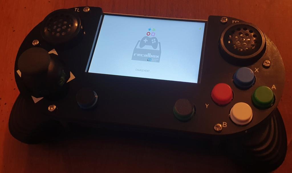 [VENDUE] Console portable sous raspberry pi 3 b+ GAME HAT modifiée 20190926
