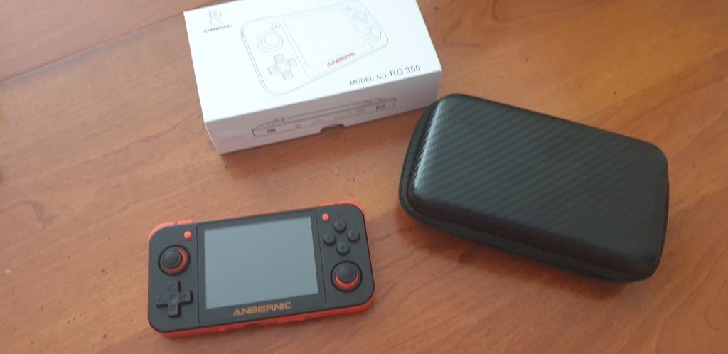[VENDUE] RG350 Neuve Noire orange dernier firmware SD 16go + 32Go 20200410