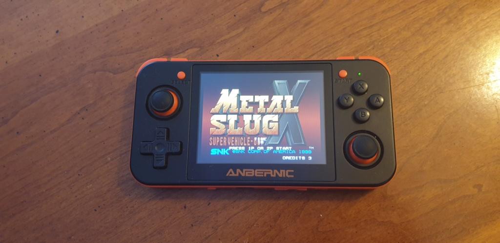 [VENDUE] RG350 Neuve Noire orange dernier firmware SD 16go + 32Go 20200413