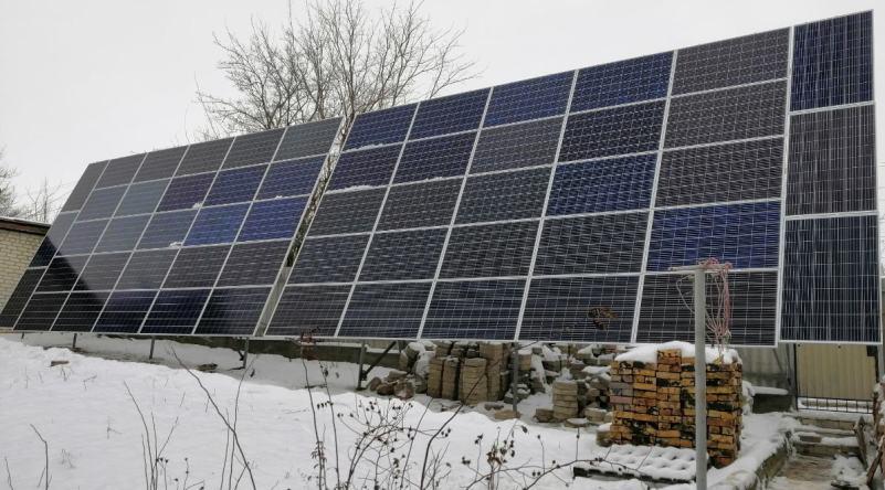 Солнечные станции под зеленый тариф 0511