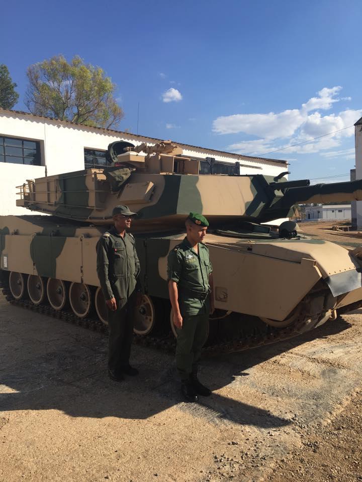 M1A1 SA ABRAMS Marocains / Moroccan M1A1 SA ABRAMS M1a1_s10