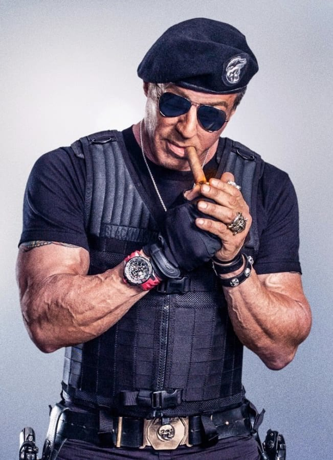 SYLVESTER STALLONE  ET LES MONTRES Expend10