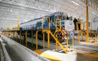 Bragado: Anunciaron la construcción de una fábrica de trenes en Mechita 00124