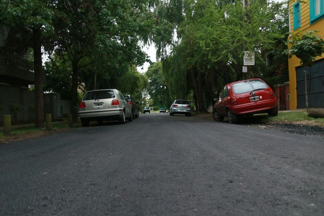 Asfaltos renovados en el bajo de San Isidro 00137
