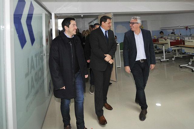 Tigre: Zamora inauguró el Hospital Municipal de Don Torcuato. 00164