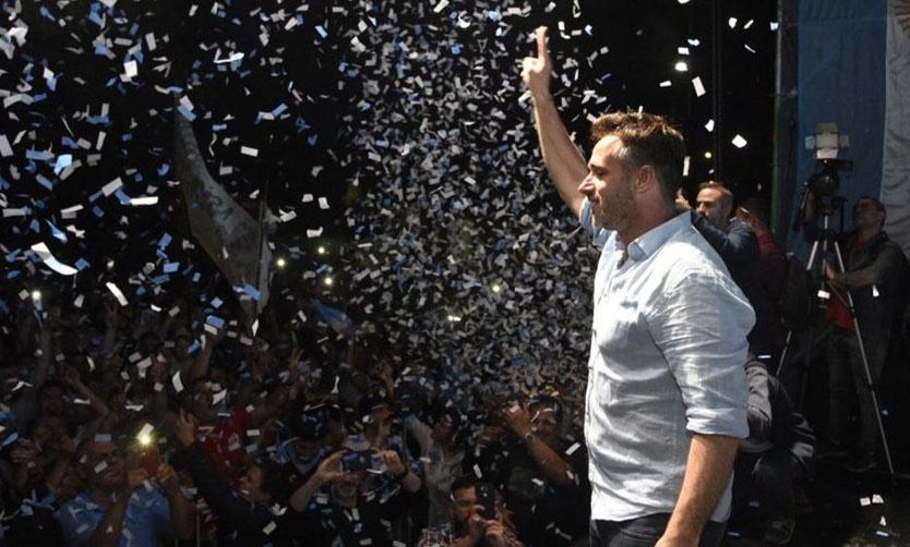 """Achával logra un triunfo ajustado y será el nuevo intendente: """"Hemos recuperado Pilar"""" 00195"""