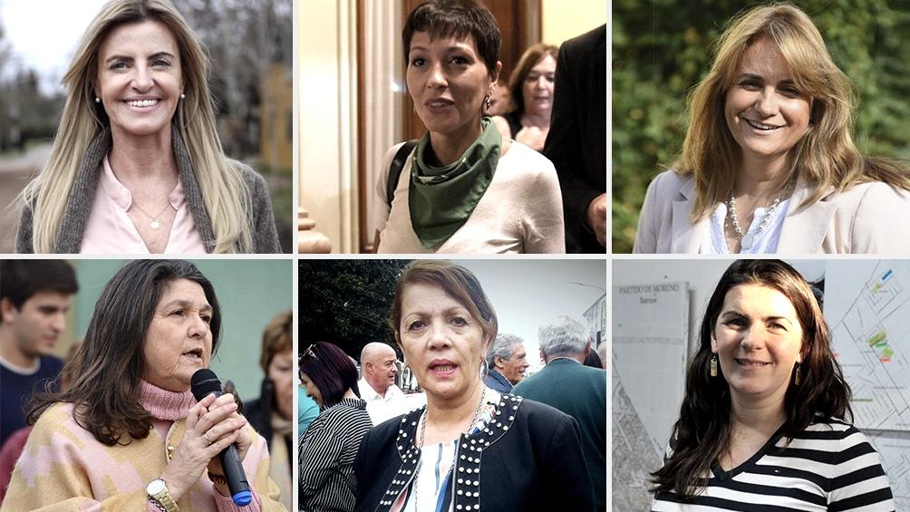 Seis mujeres gobernarán municipios bonaerenses 00198
