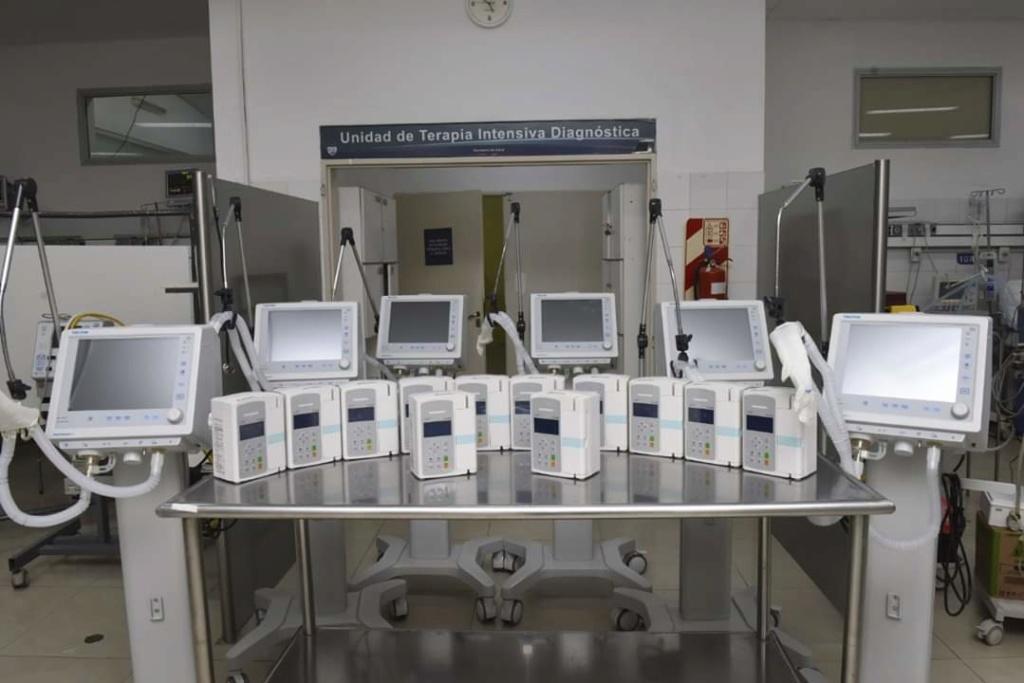 Malvinas Argentinas suma seis nuevos respiradores al Hospital de Trauma. 15906010