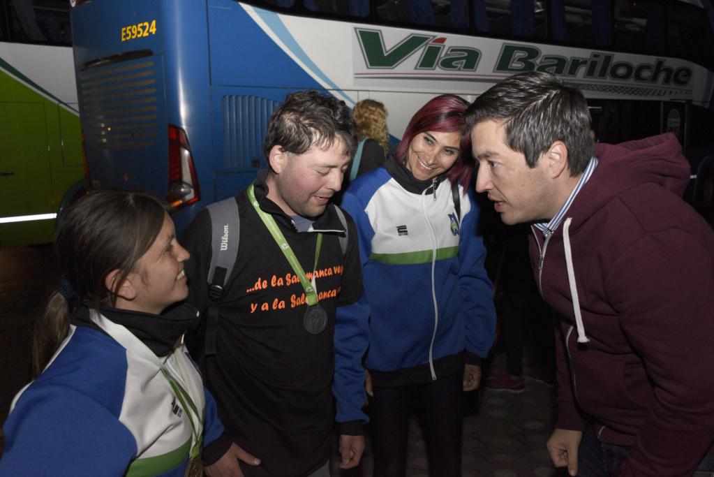 Malvinas Argentinas: Nardini recibió a los que participaron en los Juegos Bonaerenses _car0610