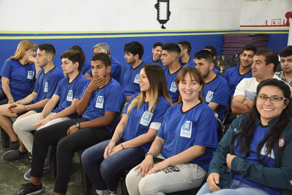 curso - Malvinas Argentinas: Culminó la primera etapa del Curso Municipal de Árbitros de Fútbol _car5210