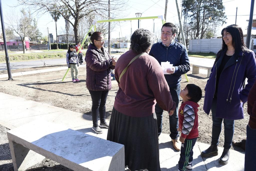 bourg - Malvinas Argentinas: Trabajos de puesta en valor de espacios públicos en Grand Bourg. _dsc8610