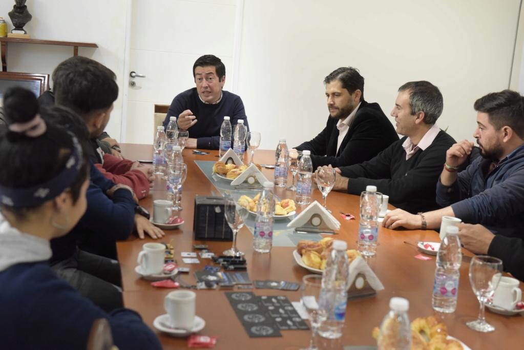 """Malvinas Argentinas. Leo Nardini: """"hay que reivindicar la labor que realizan las escuelas técnicas"""". _jcc1710"""