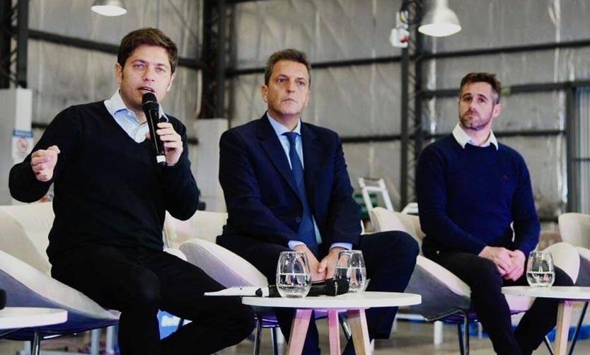 Pilar. Kicillof presidió un encuentro con empresarios en el Parque Industrial _jcc5312