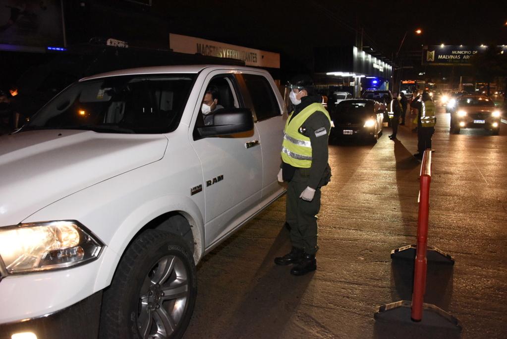 SEGURIDAD - Malvinas Argentinas: Crecientes operativos de seguridad en el distrito. _jcc8110