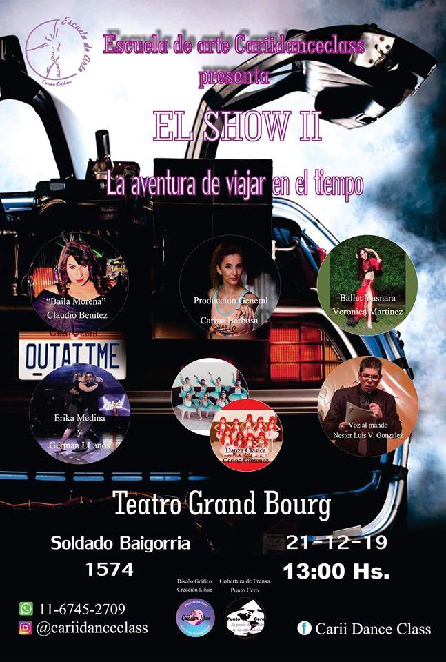 """bourg - Grand Bourg de lujo con """"El Show II"""". Aviso160"""