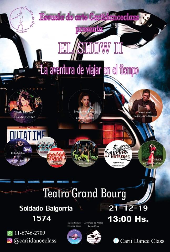 grand - El 21 de diciembre el teatro Grand Bourg se viste de gala. Aviso168