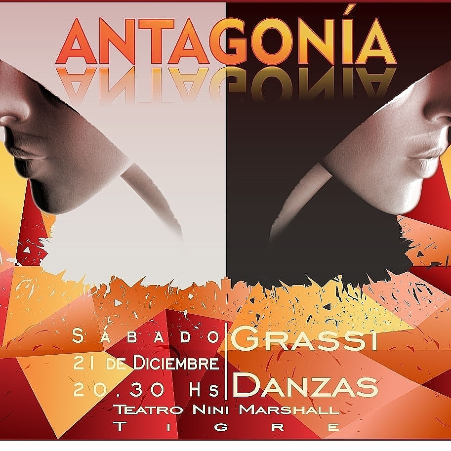"""El 21 de diciembre... """"Antagonía"""" en el Teatro NinI Marshall. Aviso173"""