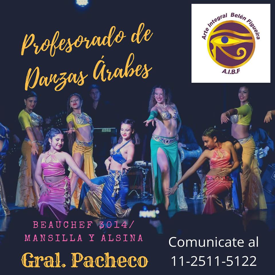 En Tigre, también tenés tu profesorado de Danzas Ärabes. Aviso_88