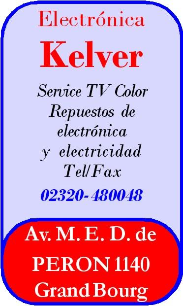 """Lo que necesitas... está en """"Electrónica KELVER"""". Décadas de experiencia y servicio. Electr14"""