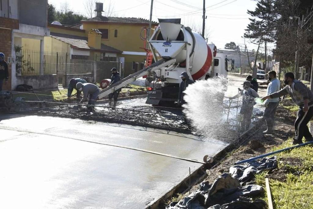 Malvinas Argentinas: nuevos pavimentos en barrio El Sol de Los Polvorines. Fb_img17