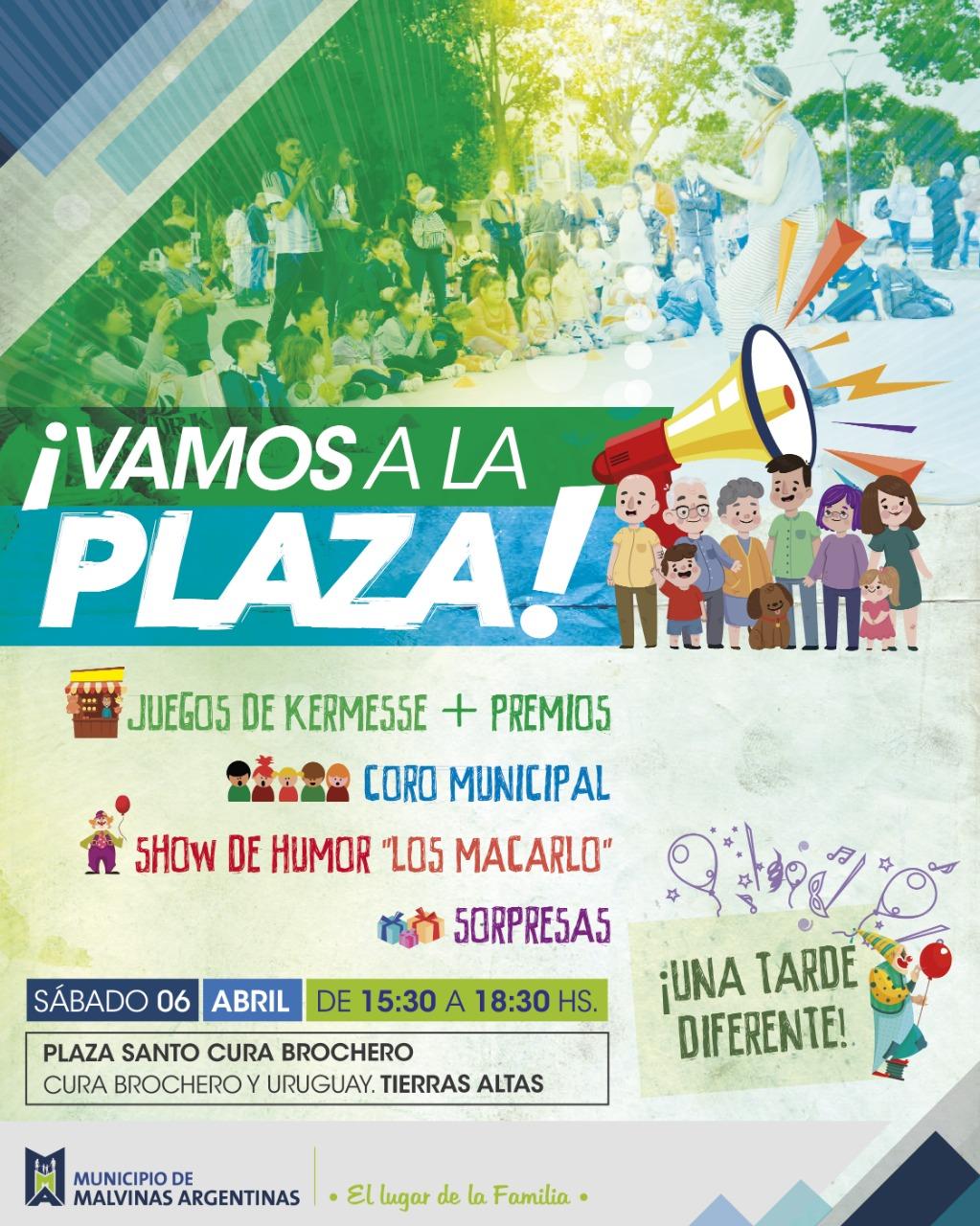 """En Malvinas Argentinas... """"Vamos a la plaza"""". Img-2019"""