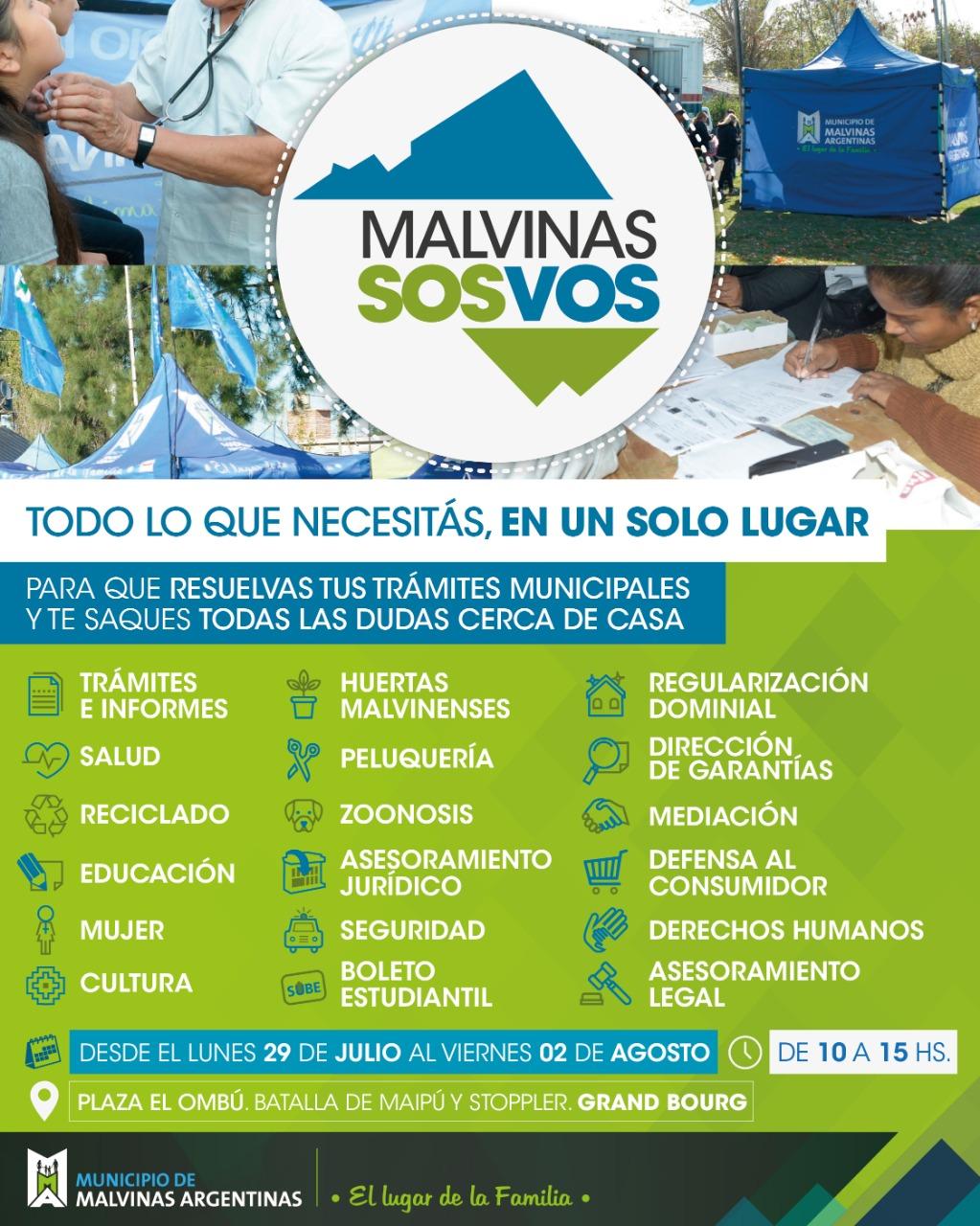 """bourg - """"Malvinas sos vos"""" vuelve a Grand Bourg Img-2022"""