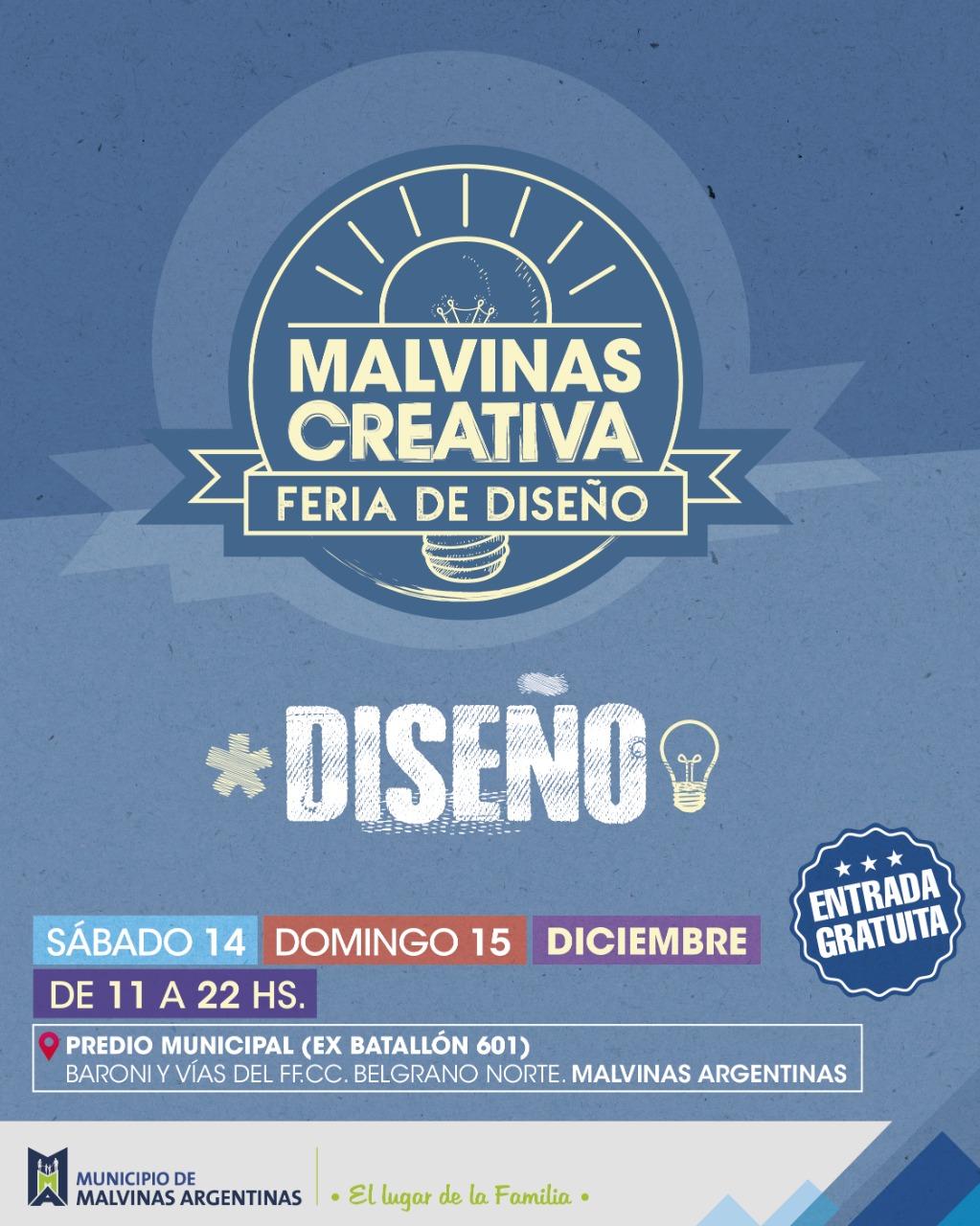 Se viene la primera edición de Malvinas Creativa  Img-2038