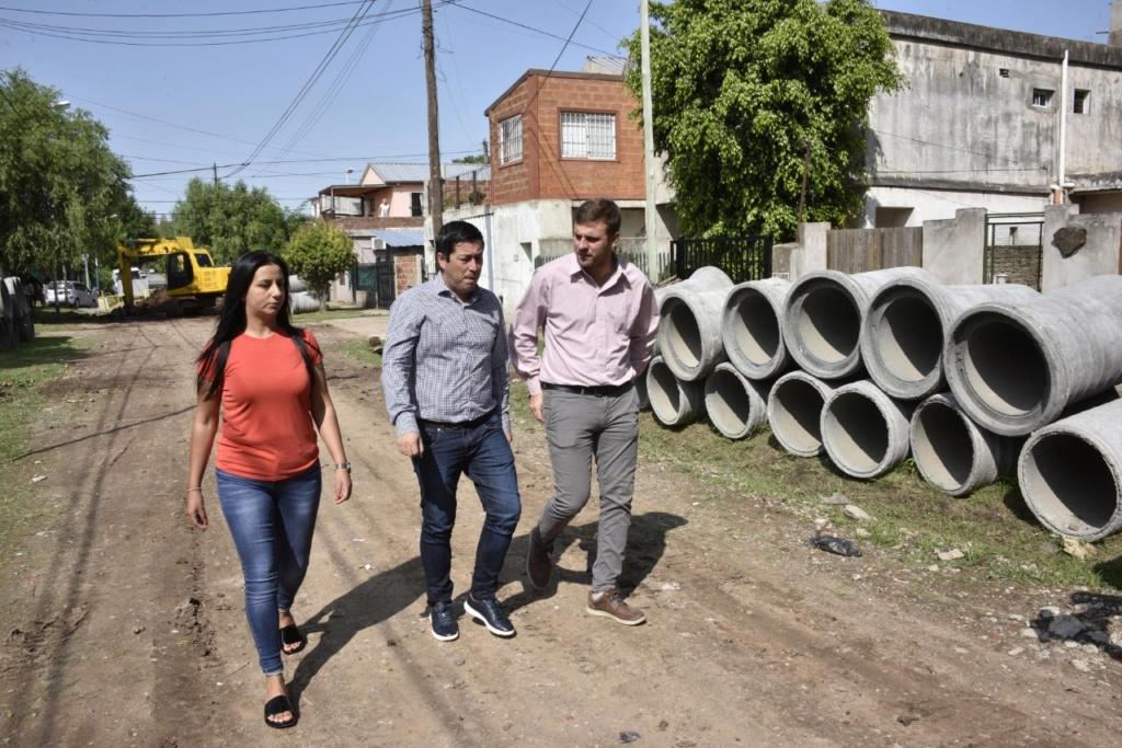 Malvinas Argentinas: obra hidraúlica en Villa de Mayo. Img-2046