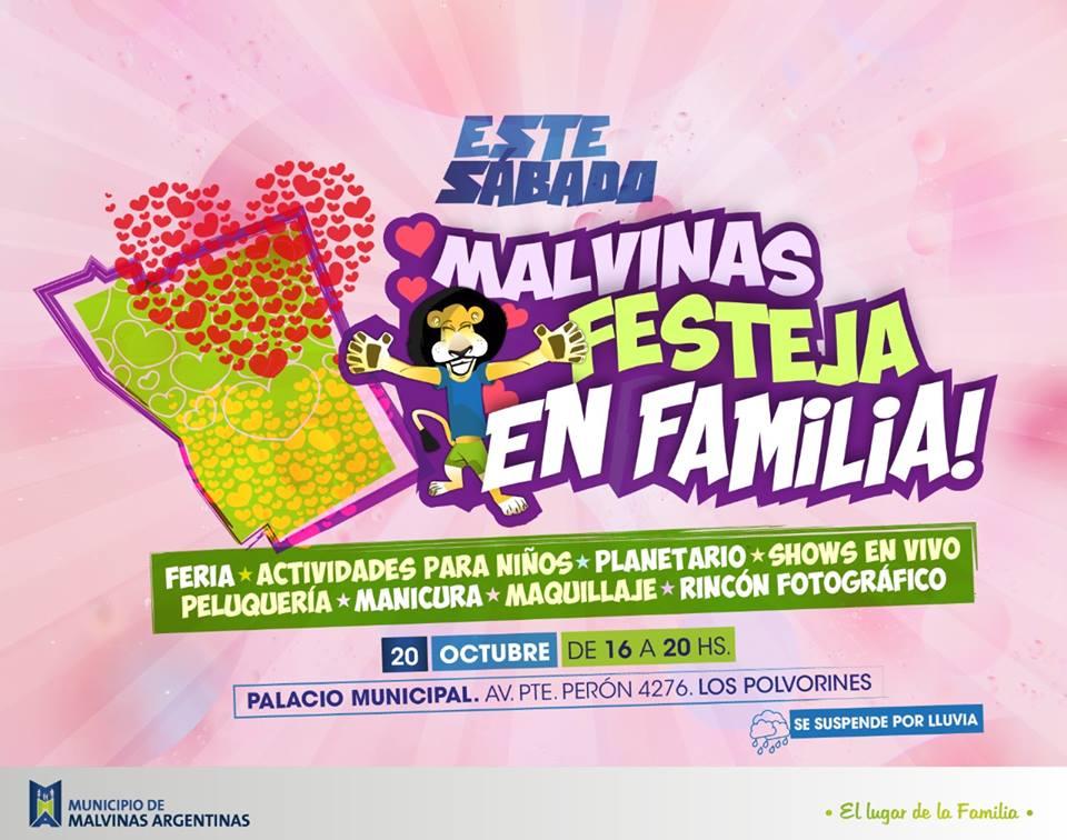 """Malvinas Argentinas: """"Malvinas festeja en familia"""". Malvin10"""