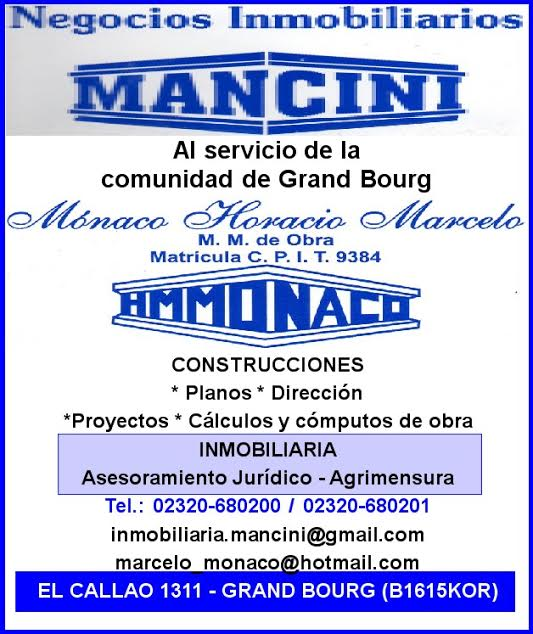 grand - En Grand Bourg... Mancini Inmobiliaria. Mancin23