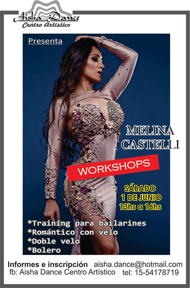 Aisha Dance y Melina Castelli, jornada imperdible en José C. Paz Melina10