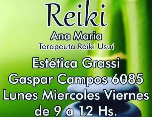 En Estética Grassi... lo mejor para vos... Reserva tu turno. Reiki_11